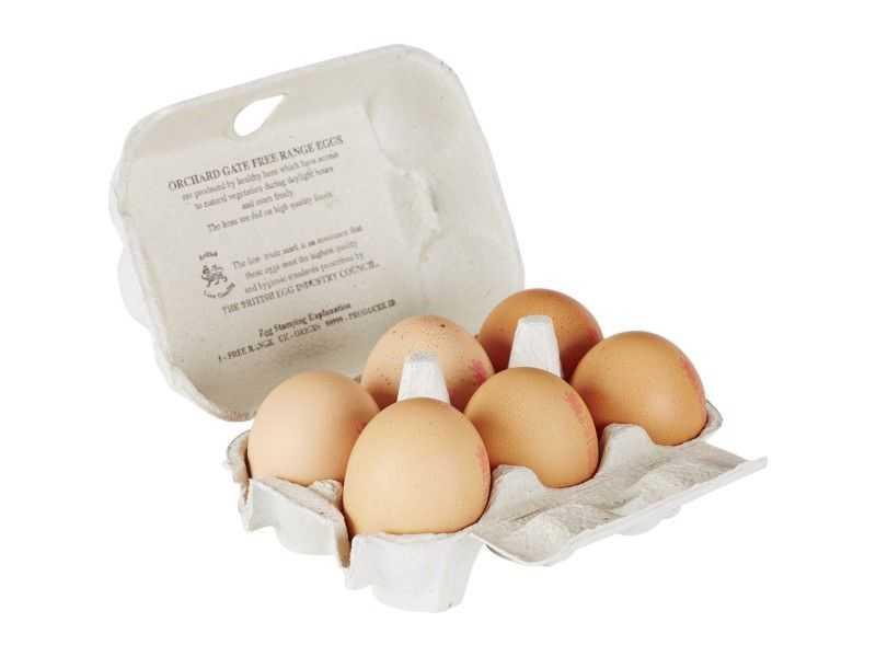 Medium Local Eggs (x 6)
