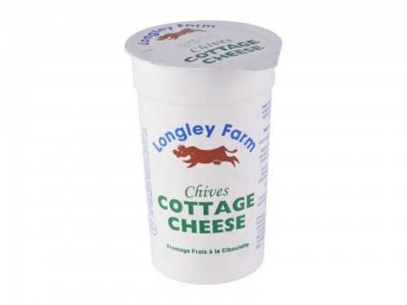 Longley Farm Cottage Cheese with Chives (250g)