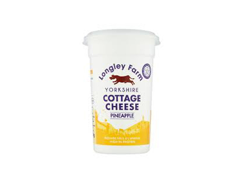Longley Farm Cottage Cheese with Pineapple (250g)