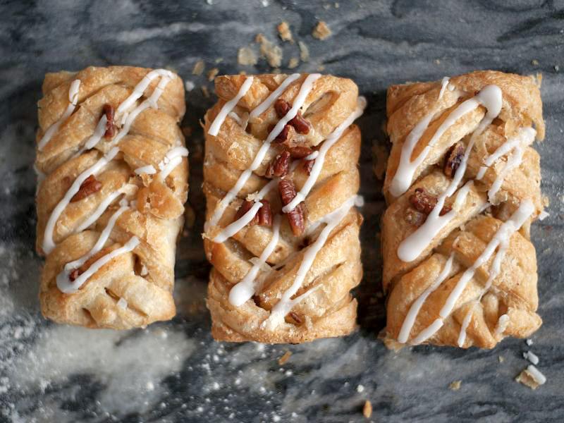 Maple & Pecan Pastry (x 2)