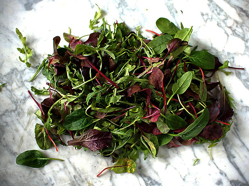 Mixed Baby Salad Leaf (100g pack)