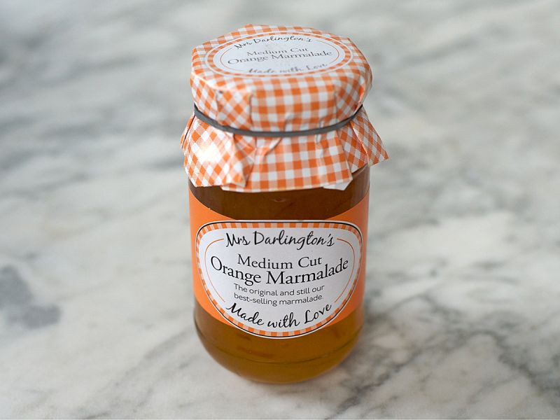 Mrs Darlington's Medium Cut Orange Marmalade (340g)