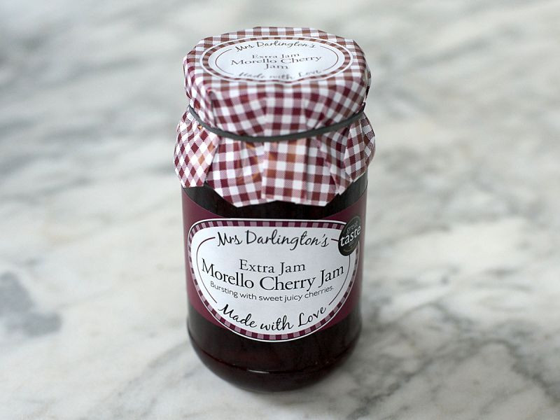 Mrs Darlington's Morello Cherry Jam (340g)