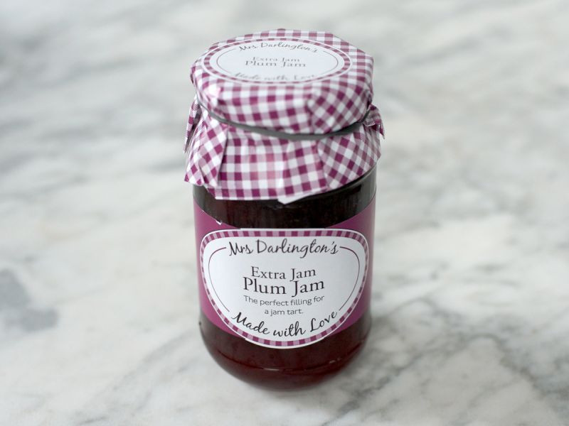 Mrs Darlington's Plum Jam (340g)