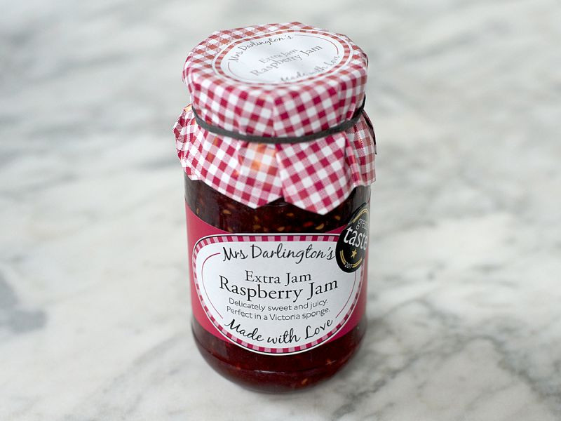 Mrs Darlington's Raspberry Jam (340g)