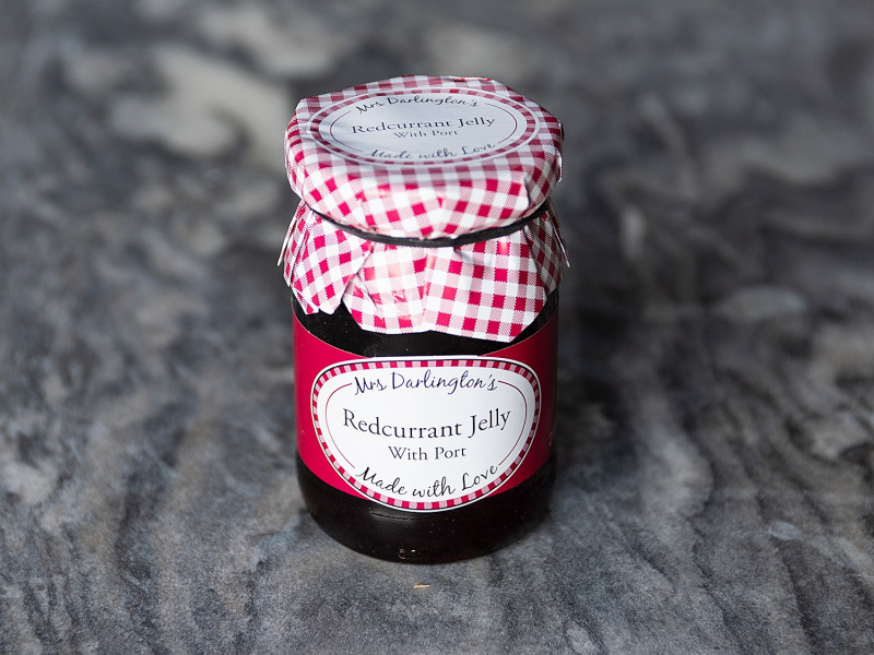 Mrs Darlington's Redcurrant Jelly with Port