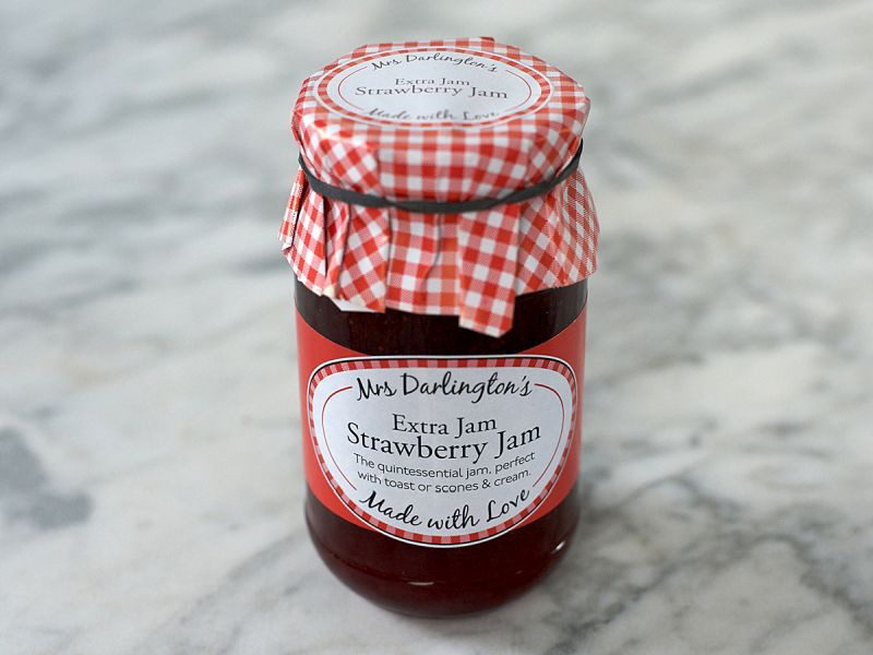 Mrs Darlington's Strawberry Jam (340g)