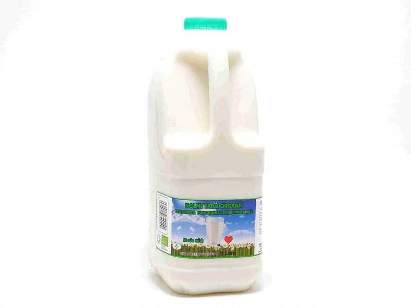 Organic  Semi-Skimmed Milk - Poly Bottle (2 Litre)