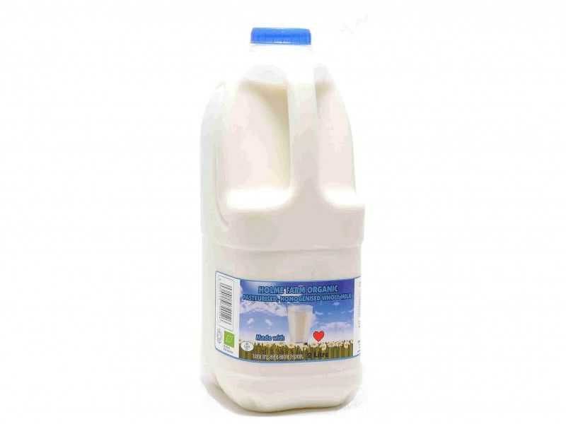 Organic Whole Milk - Poly Bottle (2 Litre)