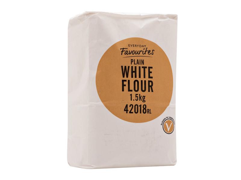 Everyday Favourites Plain Flour 1.5kg
