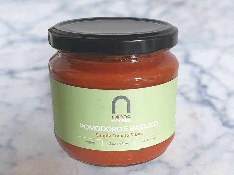 Nonna Teresa Pomodoro Basilico Tomato & Basil Sauce (340g)