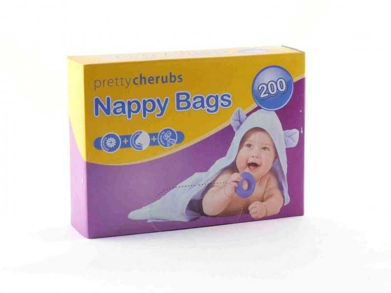 Pretty Cherub Nappy Bags (x 200)