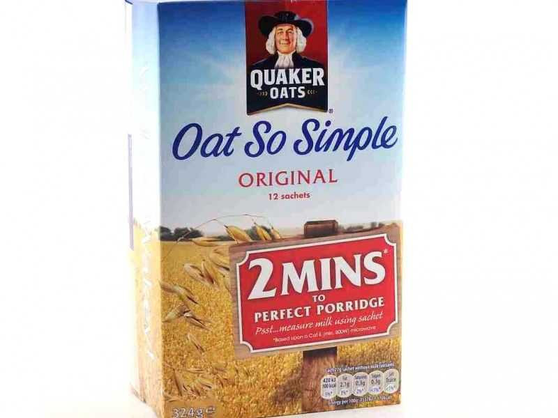 Quaker Oat So Simple Original (12 x 27g sachets)