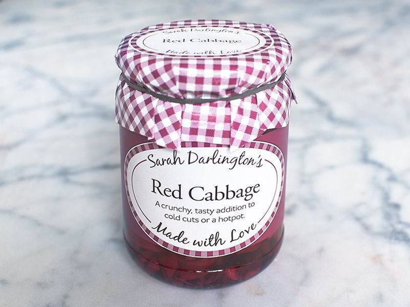Sarah Darlington's Red Cabbage (326g Jar)