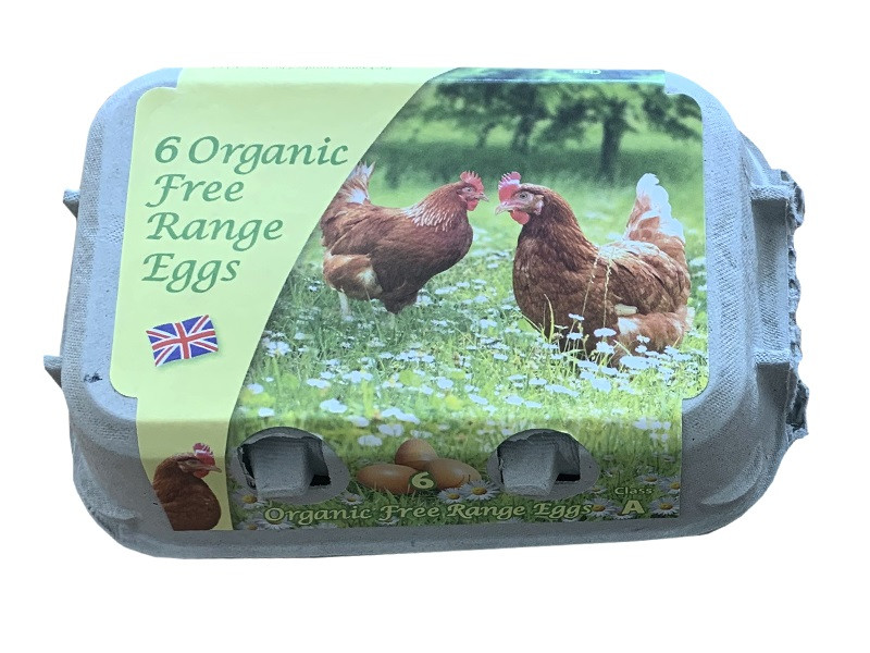Robinsons Organic Free Range Eggs (Pack of 6)