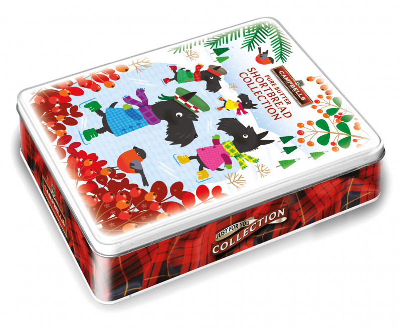 Campbell's Luxury Shortbread Tin (500g)