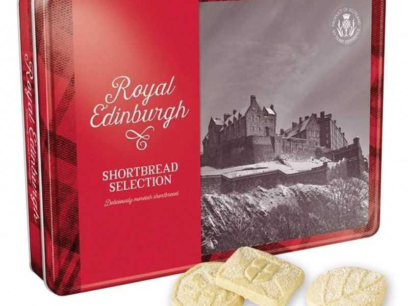Royal Edinburgh Luxury Shortbread Tin (500g)
