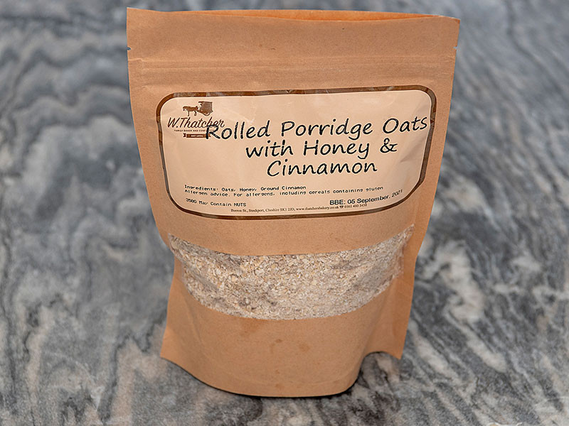 Thatchers Rolled Oat Porridge with Honey & Cinnamon