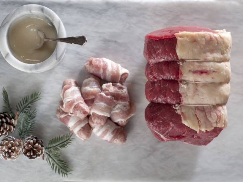 The Mistletoe Package (Cheshire Beef Topside)