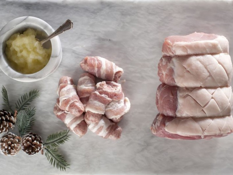 Cheshire Pork Loin Joint 2kg