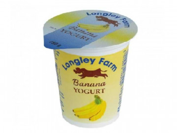 Longley Farm Banana Yogurt (150g)