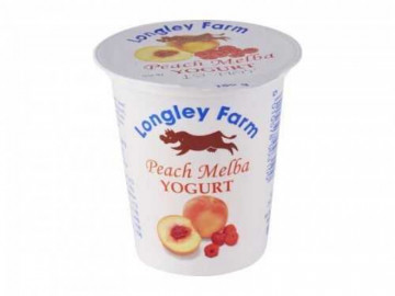 Longley Farm Peach Yogurt (150g)