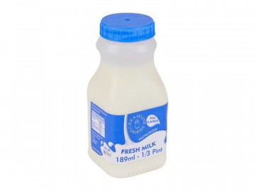 Whole Milk - Reseal Poly Bottle (189ml)