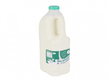 Semi-Skimmed Milk - Poly Bottle (2 Litre)