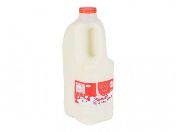 Skimmed Milk - Poly Bottle (2 Litre)