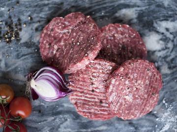 4 Prime Beef Burgers (113g each)