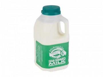 Kosher Semi-Skimmed Milk - Poly Bottle (500ml)