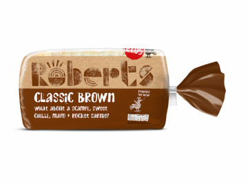 Brown Medium Sliced Bread (800g)