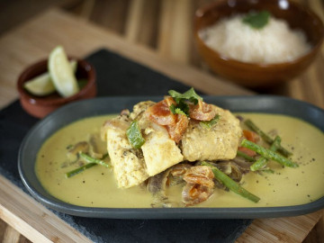 Keralan Coconut Fish Curry