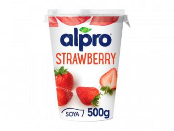 Alpro Strawberry Yogurt (500g)
