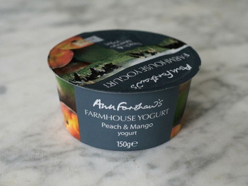 Ann Forshaw's Farmhouse Yogurt Peach & Mango (150g)