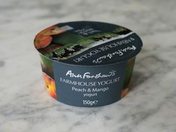 Ann Forshaw's Farmhouse Yogurt Peach & Mango (150g)