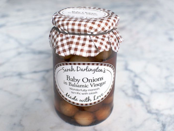 Sarah Darlington's Baby Onions In Balsamic Vinegar (450g)