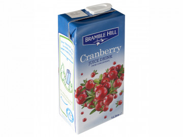 Bramble Hill Cranberry Juice Drink  (1 litre / Carton)