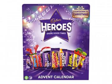 Cadbury Heroes Advent Calendar (231g)