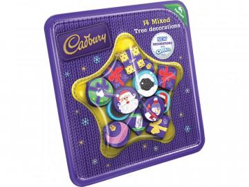 Cadbury Mixed Tree Decorations (136g)