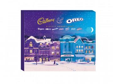 Cadbury/Oreo Assorted Biscuits (502g)