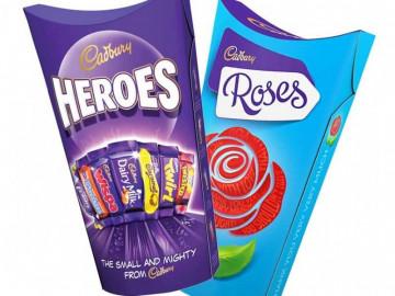 Cadbury Roses (290g) & Heroes Twin Pack (290g)