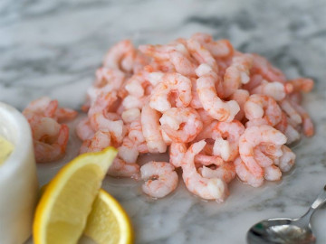 Cooked Atlantic Prawns (300g)