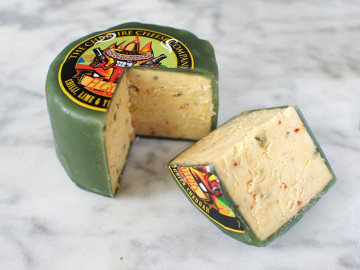 El Gringo Chilli,Lime & Tequila Cheese Truckle (200g)