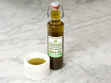 Extra Virgin Olive Oil Infused with Mountain Greek Oregano (250ml)