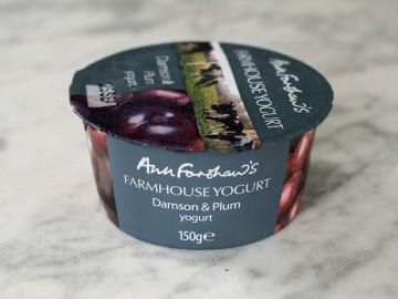 Ann Forshaw's Farmhouse Yogurt Damson & Plum (150g)