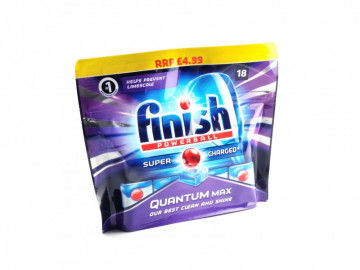 Finish Powerball Quantum Max Dishwasher Tablets ( x18)