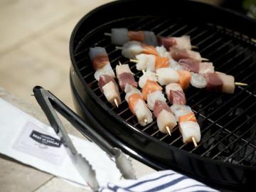 Fish Kebabs x 4 (Total Min Wt 380g)