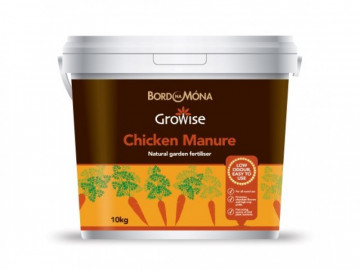 Growise Chicken Manure Fertiliser (10kg Tub)