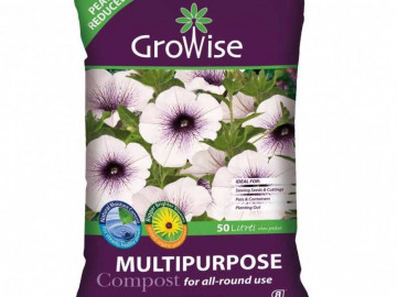 Growise Multi Purpose Compost  (50 litre bag x 3)